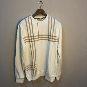 Burberry Brit Men White Sweater Crewneck ''XL''